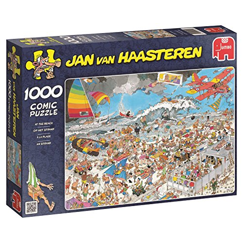 Jumbo - Puzzle At The Beach, 1000 Piezas (01652)