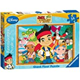 Ravensburger Jake and Neverland Pirates Giant Floor Puzzle (24 Pieces)