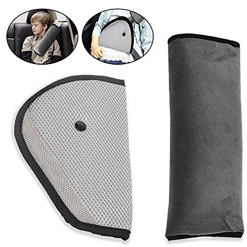 Gurtpolster,iFoxtek Auto Gurtschutz für Baby Kinder Kopf Support ner plus Sicherheit Abdeckung Schulterkissen im Auto