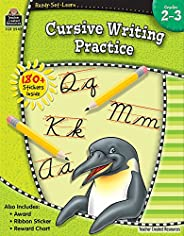 Cursive Writing Practice (Ready Set Learn)