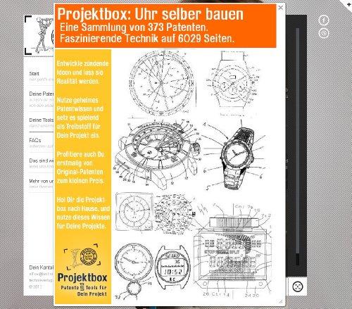 Uhr selber bauen: Deine Projektbox inkl. 373 Original-Patenten bringt Dich mit Spaß ans Ziel!