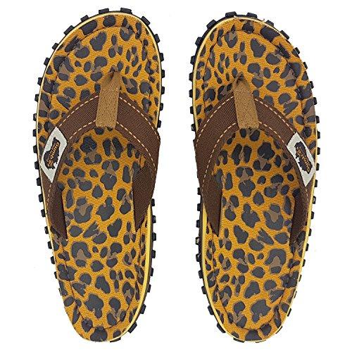 GUMBIES Zehentrenner Unisex Leopard