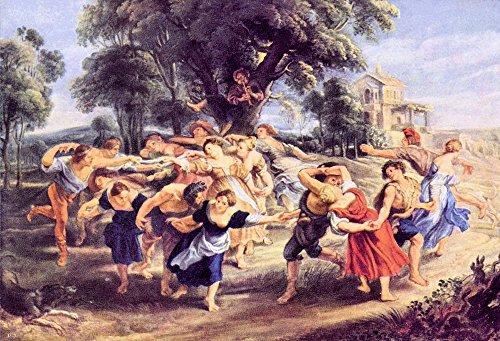 Das Museum Outlet-Barn Dance von Rubens-A3Poster