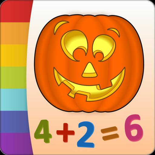Malen nach Zahlen - Halloween - Gratis