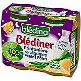 Blédina blédiner 2x200g printaniere de légules petite pate dès 8 mois - ( Prix Unitaire ) - Envoi Rapide Et Soignée