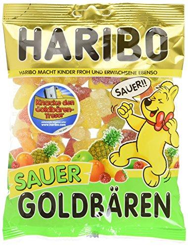 Preisvergleich Produktbild Haribo Goldbären Sauer -Beutel,  200 g