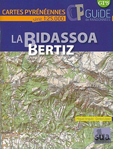 BIDASSOA - BERTIZ (Guide + Carte 1/25.000) par Gorka Lopez Calleja