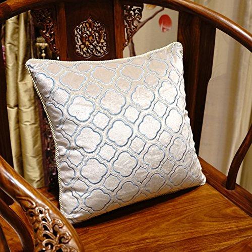 Decorative pillowcase almohadas Camera de cama sofá Trim cojín franela, bordado, Lusso...
