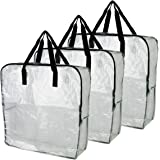 IKEA DIMPA Extra Large Moth Moisture Protection Storage Bags (Clear , 3 Pieces)