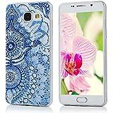 Samsung Galaxy A5(2016) Coque - YOKIRIN® TPU Souple Phone Case Coloré pour Samsung A5 2016 - Feuille de Totem