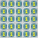 Brechbare Wertmarken 24mm einsetzbar als Bezahlmarken, Eventchips, Pfandmarken, Größe:1000 Stück, Farbe:blau