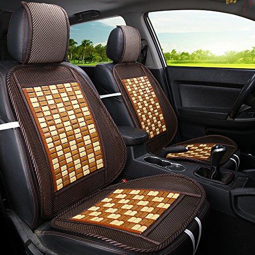 Seggiolino per auto traspirante in bamboo e seta sedile per camion seggiolino auto nuovo pad estivo - 6 colori tra cui scegliere, la maggior parte delle auto È adatta,c