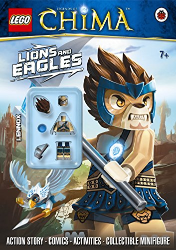 LEGO Legends of Chima: Lions and Eagles Activity Book with Minifigure (Lego Legends of Chima/Minfigur)