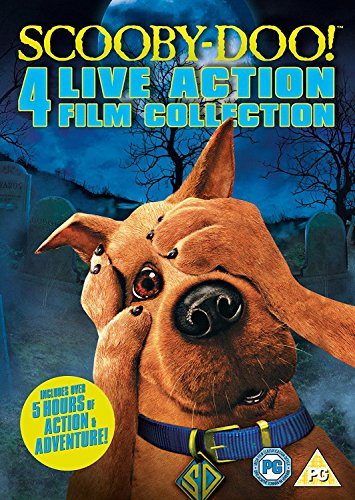 Scooby Doo Live Action Quad [DVD]