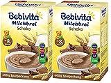 Bebivita Milchbrei Schoko, 2er Pack (2 x 600g)