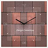 #10: DESIGN CONNECTION BOX CHECKER WALL CLOCK