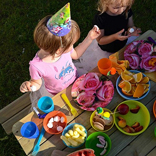 Gartenset für Kinder mit Sandkasten, Holz-Picknicktisch und Gartenbank mit 4 Sitzen - 5