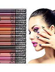 SOMEAS 15Pcs Sexy Und Charmant Lang Anhaltende Wasserdichte Matte Liquid Lipstick Pen Lip Gloss Set