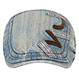 Eccellente Denim Golf Cap Men Women Girls Boys Light Blue