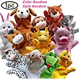 Hot Search 1PC Color Random - Hand Puppets Zoo FriendsFunny Hand Puppets For Kids Plush Hand Puppets For Cartoon Hand Puppets (Random