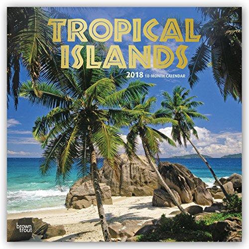 Preisvergleich Produktbild Tropical Islands - Tropeninseln 2018-18-Monatskalender: Original BrownTrout-Kalender [Mehrsprachig] [Kalender] (Wall-Kalender)