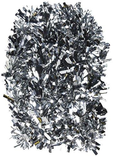 (Beistle 50281-s 6-lagig feuerbeständig Silber Metallic Festooning Garland, 10,2cm X 15