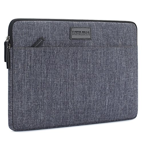 "KIZUNA 14 Zoll Laptop Sleeve Tasche Hülle Notebook Case Schutzhülle Tragbar Stoßfest Bag Für 14"" Computer/Apple 15"" MacBook Pro Retina Display/Lenovo ThinkPad X1 Carbon/Ideapad 120s/ASUS Zenbook,Grau"