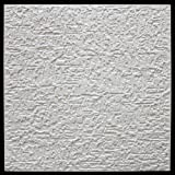 10 m² Deckenplatten Styroporplatten Stuck Decke Dekor Platten 50x50cm, PUTZ