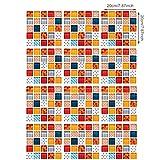 OKWEE Pegatinas de Baldosas Adhesivo Decorativo para Azulejos para Baño y Cocina Pegatinas de Pared 12 Piezas