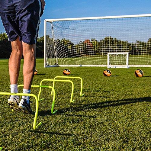 FORZA – wetterfestes Kinder Fußballtor, 0,9 x 0,75 m - 2