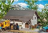 Pola PO 330899 - Bahnhof Guarda, Zubehör für die Modelleisenbahn, Modellbau