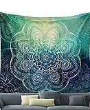 LvRao Indischen Wandteppich, Ethno-Stil Wandteppiche Psychedelic Wandteppichen Tapisserie Hippie Wand böhmischen Wandteppiche Blume #4 L:203*153cm