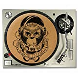 Space Monkey Kork DJ Slipmats/Turntable Slipmats – VINYL