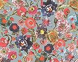 Oilily Papier peint floral-multicolore