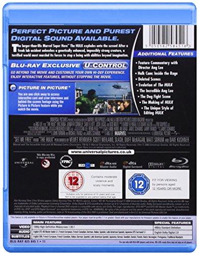 Image of Hulk [Blu-ray] [Region Free]