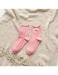 XIU*RONG Señoras Invierno Calcetines Calcetines Calcetines De Algodón El Volumen De Exportación.Rosaf (10 Pares)