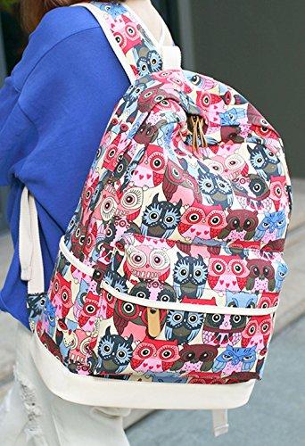 Alidier Neue Marke und Qualität 2016 Neue Damen accessories hohe Qualität Einfache Tasche Schultertasche Freizeitrucksack Tasche Rucksäcke Rot