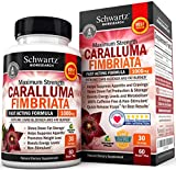 Appetite Suppressant Pure Caralluma Fimbriata Extract 1000mg All Natural Weight Loss Pills to get Slim Fast - Extreme Carb Blocker and Fat Burner to Lose Weight Easily  Made in USA
