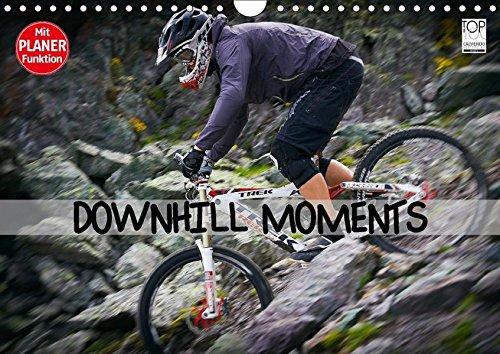 Downhill Moments (Wandkalender 2018 DIN A4 quer): Downhill...Bergabfahrt extrem (Geburtstagskalender, 14 Seiten ) (CALVENDO Sport) [Kalender] [Apr 01, 2017] Meutzner, Dirk
