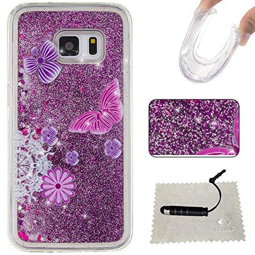 Samsung Galaxy S7 Custodia Silicone, TOCASO Copertura di Ccuoio Cover in TPU Guscio per Samsung (Gloss Olio)