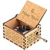 Hztyyier Carillon in Legno Carillon Intagliato Meccanismo Vintage Carillon per Decorazioni per la casa Regali per Compleanni