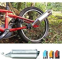 Pretty-jin Turbospoke Bicicleta Sistema de Escape Seis Efectos de Sonido Moto Wilder Efecto de Sonido del Altavoz Tubo de Escape