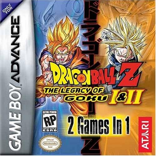 Dragon Ball Z The legacy of goku I and II - Game Boy Advance - US (Z-legacy Of Dragon Goku Ball)