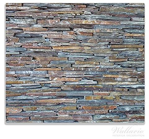 Wallario Herdabdeckplatte / Spitzschutz aus Glas, 1-teilig, 60x52cm, für Ceran-