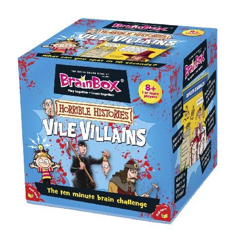 Brain Box - Halloween Vile Villains, juego de mesa en inglés (90023)