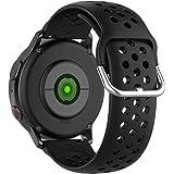 KOMI Correas de reloj de silicona de 20 mm de 22 mm, liberación rápida, bandas de repuesto deportivas para mujer, reloj intel