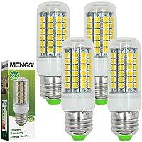MENGS® 4 Stück E27 LED Lampe 9W AC 220-240V Kaltweiß 6500K 69x5050 SMD