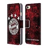 Head Case Designs Offizielle FC Bayern Munich Verzweifelt 2017/18 Muster Brieftasche Handyhülle aus Leder für iPhone 7 / iPhone 8
