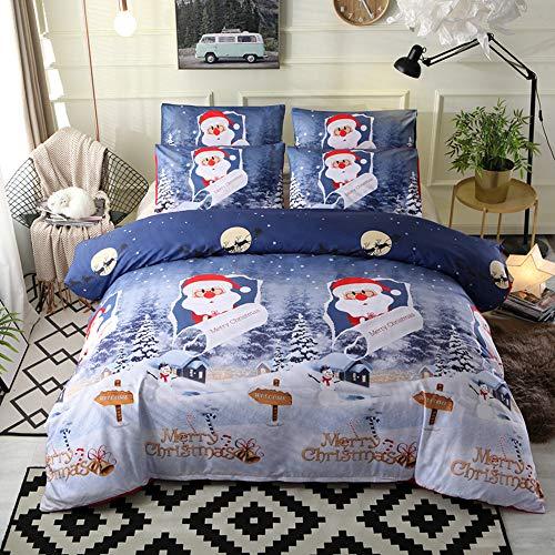 Bonner Ropa Cama Navidad Feliz Regalo Santa Claus