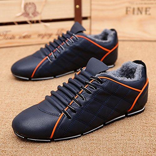 Feifei Loisirs Coton Hommes Chaussures D'hiver Chaud (couleur: 06, Dimensions: Eu39 / Uk6.5 / Cn40) 02